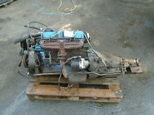 USA MOPAR 360 5.9 V8 ENGINE/GEARBOX COMP SET UP 4006830-360-3 CODE! RARE IN UK!