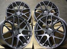 """18"""" GM MS007 ALLOY WHEELS FIT NISSAN SKYLINE GTST GTR GTT 200 300ZX 350Z S14 S15"""
