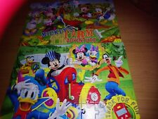 MICKEY MOUSE CLUBHOUSE 2-1 JIGSAW PUZZLE