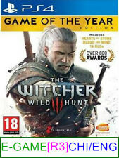 PS4 The Witcher 3 Wild Hunt (GOTY) (CHI/ENG) [R3] ★Brand New & Sealed★