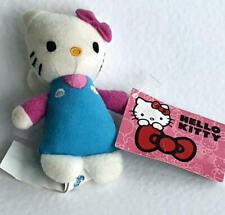 Hello Kitty Plüsch Plüschtier ca 10cm Karabiner ca. 5 cm Schlüsselanhänger Ke...