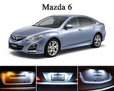 Xenon White License Plate / Tag 168 194 LED light bulb for Mazda 6 (2Pcs)