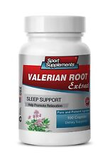 Valerian Tea - Valerian Root Extract 4:1 125mg - Relief For Poor Sleep Caps 1B
