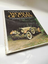 World Of Cars Photo Picture Book Automoblie Quarterly Packard Bugati Rolls-Royce
