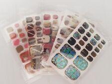 Selbstklebende Nagelfolie 3D Nagelaufkleber Nailart Sticker Zehennagel