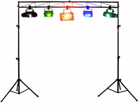 Odyssey LTMTS8 8' Foot Light Truss w/ 2 Tripods+Mounting Pole For Church Stage