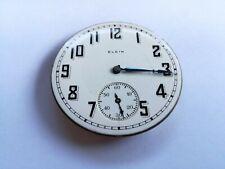 Elgin pocket watch movement 16s