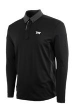 PXG Men's Long Sleeve Collar Button Down Polo