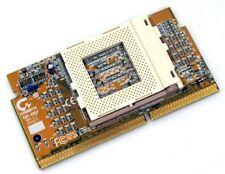 3 Stück Gigabyte GA-6R7 GA 6R7 133 MHz Intel CPU Slot 1 Adapter Sockel 370 NEU