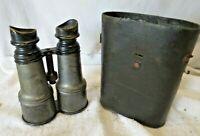 WW1 Chevalier Opticien Paris Binoculars Glasses Brass Day & Night US Signal