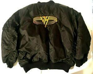 Van Halen Military Style Puffer Tour Jacket Size XL