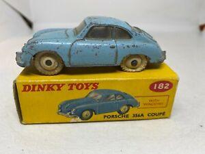Dinky Toys 182 Porsche 356A Coupe Boxed