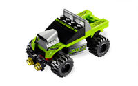 LEGO Racers 8192 Lime Racer 100% Complete w/ Manual & Canister