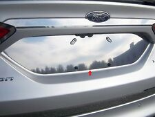2013-2018 FORD FUSION 1 Piece Stainless Steel License Plate Bezel. 4-door.