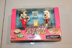 Underdog Sweet Polly 1998 Limited Edition Collectors Figures NIB Vintage HTF