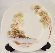 Shelley China Side Plate OLD MILLS - Water Stream - tea or cake plate