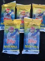 Topps 2020 Baseball Update Series Fat Value Pack 34 Cards Lot Of 5 New Sealed