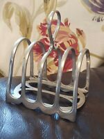 Art deco Four Bar Toast Rack, Atkin Brother, Sheffield EPNS 4566