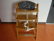 Hauck Kinderhochstuhl Hochstuhl höhenverstellbar Kinderstuhl Holz