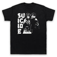 SUICIDE band UNOFFICIAL SYNTH PUNK ALAN VEGA MARTIN REV T-SHIRT ADULTS KIDS SIZE