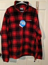 Columbia Fleece Jacket Lumberjack Pattern Men's size Large
