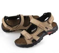 Men's Leather Open Toe sandal sneaker Hiking Shoes Sport  Sandals all size