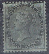 India 1855 QV 4a black very fine mint and very well centred
