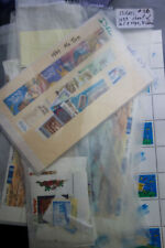 Israel Stamps S/S PB Tabs Strips mint NH on 62x Pages in Binder