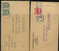 Dominican  republic   2  covers  to   US         KL0205