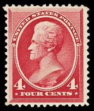 Scott 215 1887 4c Jackson Large Banknote Issue Mint F-VF OG LH Cat $180