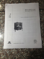 Jotul F 600 Firelight wood stove manual installion and operating