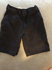 Us Polo Assn Boys Girls Navy Blue Uniform Shorts Size 5 Adjustable Flat Front