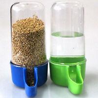Bird Feeder Food Water Feeding Automatic Drinker Parrot Pet Dispenser Cage
