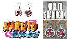 Anime Naruto Sharingan Dangle Earrings Girl Cosplay W/Gift Box USA Seller
