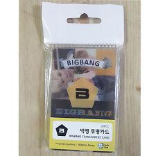 Korea K-pop Star Artist BIGBANG - TRANSPARENT PHOTO CARD   25pcs Photocards Set