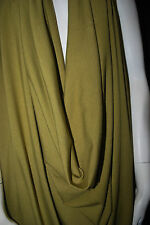 Bamboo Cotton Lycra Jersey Knit Fabric Eco-Friendly 4ways spandex - Chartreuse