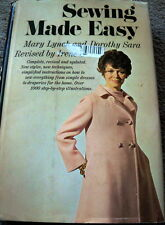 RARE VTG 1960s SEWING BOOK PATTERN DRAFTING SEWING MADE EASY 1969