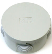 5x Scatola di derivazione rotonda Enclosure IP44 80 x 40 mm ANTIVIBRANTI Cavo connetion BOX