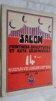 Folleto Salón Pintura Escultura Y Artes Gráficas 6 Janv. Y 18 Fevr. 1979