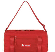 SUPREME MINI DUFFLE BAG RED OS/ FW20 (IN HAND) 100% AUTHENTIC, (BRAND NEW)