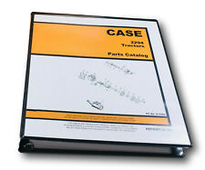 Case 2294 Tractor Parts Manual Catalog Assembly Exploded Views Numbers Schematic