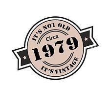 Non è vecchio intorno al 1979 ROSETTA Emblema PER CASCO DA MOTO AUTO ADESIVO VINILE