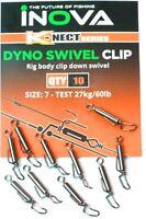 Inova Dyno Swivel Clip Size 7 / Sea Fishing Tackle