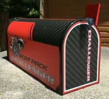 Mailbox / Custom Mailboxes / Dodge Scat Pack Challenger / Gifts For Him