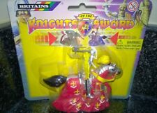 Britains Knights Of The Sword  Red Power Knight pull back action carded new
