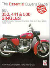 BSA 350, 441 & 500 Singles - The Essential Buyer's Guide
