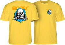 Powell Peralta Bones Ripper Skateboard Shirt Banana Xl