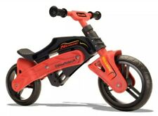 Slyde Running Kids Balance Bike Black Red 10 Inch Training Practice £99.99