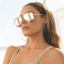 "NEW QUAY AUSTRALIA X DESI PERKINS Gold ""HIGH KEY"" Sunglasses -SALE"