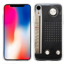 For Apple iPhone XR TPU Phone Case - Vintage Radio